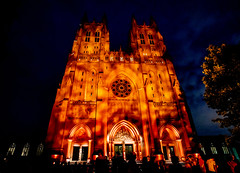 Wear Orange at the National Cathedral (vpickering) Tags: washingtonnationalcathedral wearorange notonemore cathedrals nationalgunviolenceawarenessday neveragain nationalcathedral washingtoncathedral cathedral