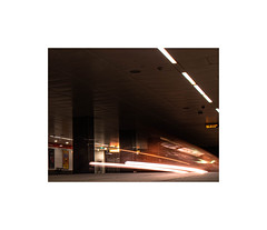 train passing (ewan walker photography) Tags: longexsposure glasgow scotland photography nikon d3500 metro subway train tube tunnel lights