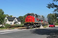 Off to the Mines (jamesbelmont) Tags: utahrailway springville utah coal mpi mk503 southmain train railroad railway locomotive