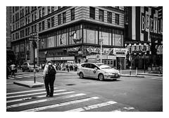 FILM - Ellen's Stardust Diner (fishyfish_arcade) Tags: 35mm analogphotography bw blackwhite blackandwhite canonsureshotz135 filmphotography filmisnotdead hp5 istillshootfilm monochrome newyork analogcamera compact film ilford mono streetphotography ellensstardustdiner