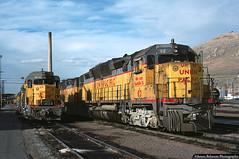 These are a Few of my Favorite Things (jamesbelmont) Tags: unionpacific emd dd35a gp30 northyard saltlakecity utah train railroad railway locomotive diesel