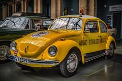 VW BEETLE ADAC No. 1529 (Peters HDR hobby pictures) Tags: petershdrstudio hdr classiccar car vwbeetle klassiker oldtimer vwkäfer adac gelb yellow einsatzfahrzeug classicremise