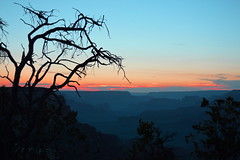 Goodnight and Sweet Dreams... (jeffr71) Tags: canyon grandcanyon arizona sky sunset clouds layers silhouette