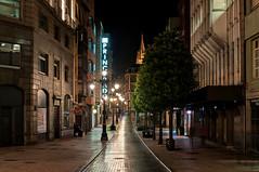 Oviedo nocturno (ccc.39) Tags: asturias oviedo calle noche nocturna ciudad urban town city street night