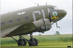 "C-53D, N45366, ""D-Day Doll"" (OlivierBo35) Tags: caen cfr lfrk daksovernormandy dc3 dakota douglas dday skytrain"