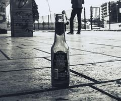 vuoto a perdere ... birretta solitaria (Massimo_Fidanza_Ph) Tags: birra bw birretta station vuoto portrait