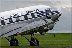 "DC-3, N33611, ""Clipper Tabitha May"" (OlivierBo35) Tags: caen cfr lfrk daksovernormandy dc3 dakota douglas dday skytrain"