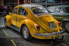 VW BEETLE ADAC No. 1529 - rear view (Peters HDR hobby pictures) Tags: petershdrstudio hdr classiccar car vwbeetle klassiker oldtimer vwkäfer adac einsatzfahrzeug gelb yellow classicremise
