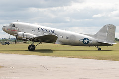 F-AZOX (Baz Aviation Photo's) Tags: fazox douglas c47b chalair duxford egsu qfo daks over normandy