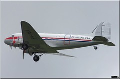 "C-47A, PH-PBA, ""Prinses Amalia"" (OlivierBo35) Tags: caen cfr lfrk daksovernormandy dc3 dakota douglas dday skytrain"