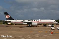 C-GIAJ at Bermuda (320-ROC) Tags: cargojet cgiaj boeing757 boeing757200 boeing757200f boeing75728apcf boeing 757 757200 757200f 75728apcf b752 bda txkf bermudainternationalairport lfwadeinternationalairport bermuda bermudaairport