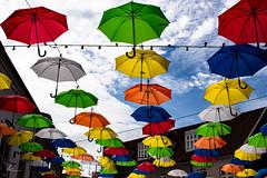 umbrellas in the sun (Julia Knop) Tags: juliakoester juliaköster juliaknop denmark dänemark vejle umbrellas regenschirme umbrella regenschirm colors colours farben sunshine sonnenschein