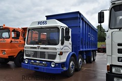 Add Watermark20190608042213 (richellis1978) Tags: truck lorry haulage transport logistics gaydon classic commercial show 2019 aec ergomatic tipper htw500n britaniacrest foss