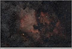 North America & Pelican (alexmanzaneraserra) Tags: astrophotography astronomy astrofotografia longexposure nihgtphotography nightscape nightsky night universe nebula deepsky