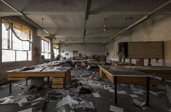 Disused textile mill offices (Camera_Shy.) Tags: disused textile mill industrial derelict office industry italy decayed urban exploration ue abandoned exploring urbex photography italia road trip nikon d810