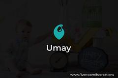Umay (HZcreations) Tags: baby babyclothing onlinestore modern minimalist minimallogo graphicdesign logo