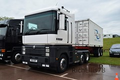 Add Watermark20190608042040 (richellis1978) Tags: truck lorry haulage transport logistics gaydon classic commercial show 2019 renault magnum ae n30oof