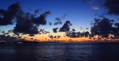 Atlantic Dawn (PelicanPete) Tags: florida southflorida floridakeys islandchain islamoradaflorida sunrise marina channel swiftcurrent dawn nature beauty cloudscape reflection glow channelmarkers atlanticocean natural atlanticdawn clouds unitedstates usa blue sea sky