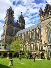 Magdeburg Cathedral I (hansn (4.9+ Million Views)) Tags: magdeburg cathedral dom katedral germany architecture arkitektur gothic gotisk
