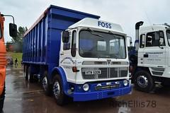 Add Watermark20190608041938 (richellis1978) Tags: truck lorry haulage transport logistics gaydon classic commercial show 2019 ergomatic aec tipper htw500n britaniacrest foss
