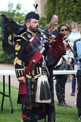 2019 06 06 0270 Service at Memorial 3rd UK Division Caen (IoW_Sparky) Tags: caen normandie normandy france eos 550 dday dday75 jourj canon british scottish soldier piper memorial musician chateau calvados