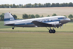 OH-LCH (Baz Aviation Photo's) Tags: ohlch douglas dc3a finnish airlines duxford egsu qfo daks over normandy