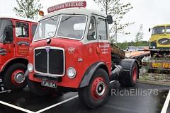 Add Watermark20190608041830 (richellis1978) Tags: truck lorry haulage transport logistics gaydon classic commercial show 2019 aec mercury vaughan fjk154