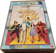 "F 6 1000 19X26.75 CM ART 10613 THE WIZARD OF OZ B/C (Andrew Reynolds transport view) Tags: jigsaw ""jigsaw puzzle"" picture pieces large difficult falcon hobby leisure pasttime f 6 1000 19x2675 cm art 10613 the wizard of oz bc"