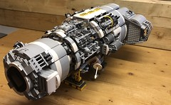 Work in Progress - Terraforming Ship (gould.bob) Tags: exploration star wip scifi starwars spaceship space starship moc lego