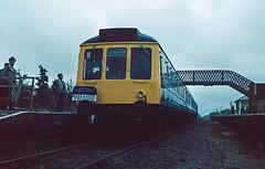 Photo of Quainton Road 'excursion' station. 1984.