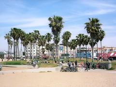 Los Angeles 12 (Lennart Arendes) Tags: los angeles california venice beach zenza bronica etrs analog film 120 medium format 75mm kodak portra 160 sand palm tree people buildings