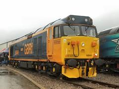 Newly repainted 50049 'Defiance' (WelshHatter2000) Tags: diesel locomotive crewe class50 50049 defiance locomotiveservicesltd crewedieseldepot englishelectric vulcanfoundry newtonlewillows type4 britishrail