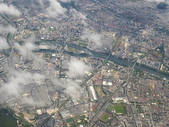 Paris after CDG take-off (jimcnb) Tags: geo:lat=4893303400 geo:lon=235346955 geotagged luftbild saintdenis îledefrance frankreich 2019 juni