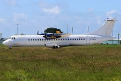 G-ISLN | ATR72-500 | Blue Islands (cv880m) Tags: guernsey gci channelislands aviation airliner airline aircraft airplane airport gisln atr atr72 at7 atr72500 atr72212 blueislands turboprop hybrid arkia
