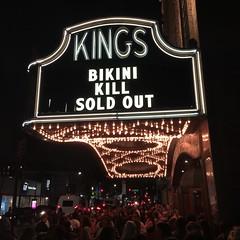 Bikini Kill (PhotonPirate) Tags: bikini kill kingstheatre flatbush brooklyn ny