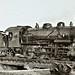 Baldwin 2-8-0 locomotive at Camp Pullman, France 11-9-18 NARA111-SC-57992