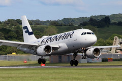 A319 OH-LVH Finnair - Edinburgh Airport 6/6/19 (robert_pittuck) Tags: a319 ohlvh finnair edinburgh airport 6619