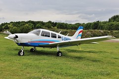 G-BWPH , Piper PA-28-181 Cherokee Archer II @ Enstone , Oxfordshire . (Bob Symes) Tags: