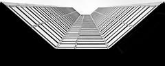 Architecture Beaugrenelle (freephysique) Tags: architecture paris beaugrenelle 15eme noir et blanc black white nikon d750 ligne perspective abstarct abstrait fuite