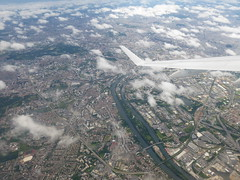 Paris St Denis and Stade de France after CDG take-off (jimcnb) Tags: geo:lat=4893303400 geo:lon=235346955 geotagged luftbild saintdenis îledefrance frankreich 2019 juni