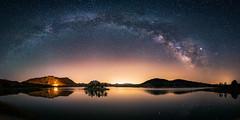 Quiet Light (modesrodriguez) Tags: milkyway nightscape murcia spain landscape night stars universe lonelyspeck arch nature milky way