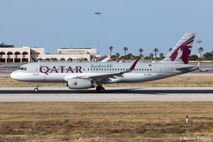 Qatar Airways Airbus A320-232  |  A7-AHY  |  LMML (Melvin Debono) Tags: qatar airways airbus a320232 | a7ahy lmml cn 5395 melvin debono spotting canon eos 5d mark iv 100400mm plane planes photography airport airplane aircraft aviation spotters spotter malta mla qr384
