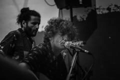 inra (_tonidelong) Tags: inra banda band rock pop indie live life music musuca guitar guitarra concert concierto show performance actuacion superlativo bar madrid spain españa blanco y negro black white monochrome bn bw