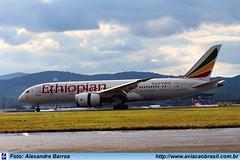 Ethiopian Airlines - ET-ASH (Aviacaobrasil) Tags: ethiopianairlines boeing7878 sãopaulogruairport alexandrebarros