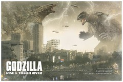Godzilla Rise of the To Lich River (nam fullbuster) Tags: godzilla rise lich river nam lee lê fullbuster design việt designer vàng old cũ nguyễn khang láng hà nội photoshop 70d
