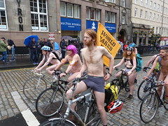 World Naked Bike Ride Edinburgh 2019 (36) (Royan@Flickr) Tags: world naked bike rid edinburgh festival cycling public nudity nude bicycles wnbr 2019