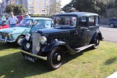 Austin Twelve Four Ascot VJ8965 (Andrew 2.8i) Tags: classics meet show cars car classic weston westonsupermare british vintage veteran saloon sedan ascot 12 twelve austin