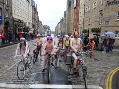 World Naked Bike Ride Edinburgh 2019 (33) (Royan@Flickr) Tags: world naked bike rid edinburgh festival cycling public nudity nude bicycles wnbr 2019