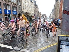 World Naked Bike Ride Edinburgh 2019 (35) (Royan@Flickr) Tags: world naked bike rid edinburgh festival cycling public nudity nude bicycles wnbr 2019