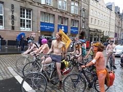 World Naked Bike Ride Edinburgh 2019 (34) (Royan@Flickr) Tags: world naked bike rid edinburgh festival cycling public nudity nude bicycles wnbr 2019